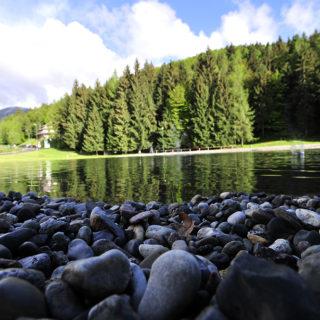 Il laghetto di Montecampione