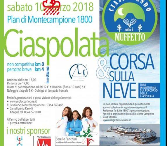 Ciaspolata 2018
