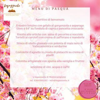 menu pasqua montecampione pranzo